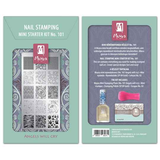 Moyra Mini Stamping Starter Kit 101 Angels Will Cry