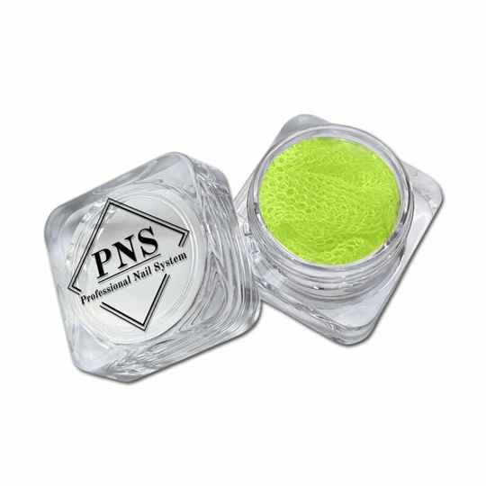 PNS Lace/Kant Neon Geel