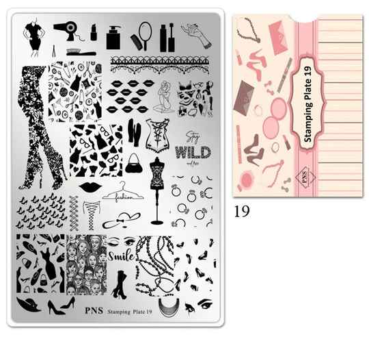 PNS Stamping Plate 19