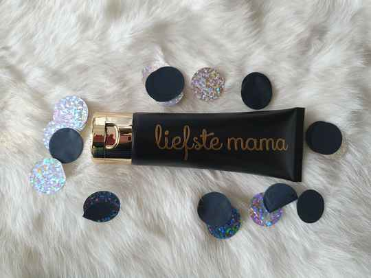 Handcreme Liefste Mama of andere naam.