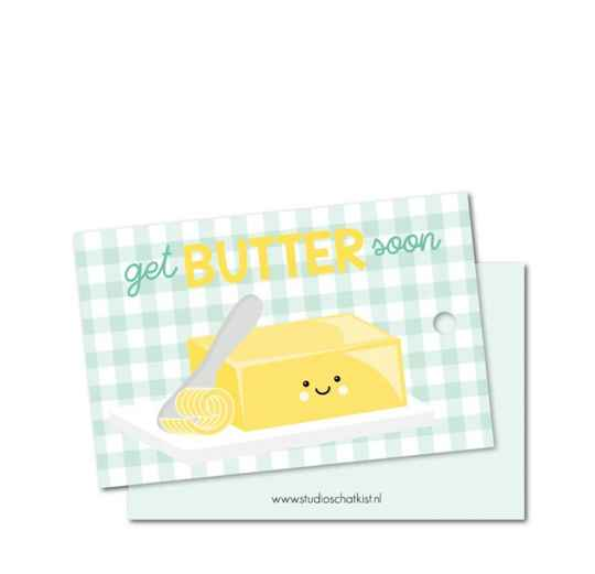 Get butter soon kadolabel