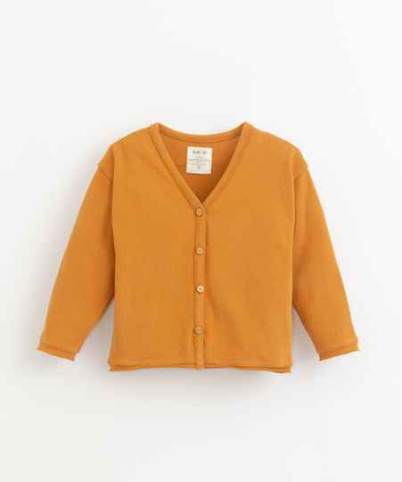 Play Up Jersey Cardigan - Hazel
