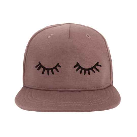 VanPauline Cap Sleepy Eyes - Dark Pink
