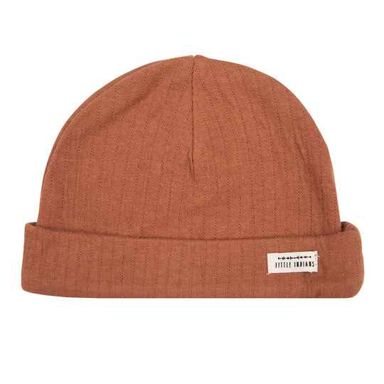 Little Indians Beanie - Amber Brown