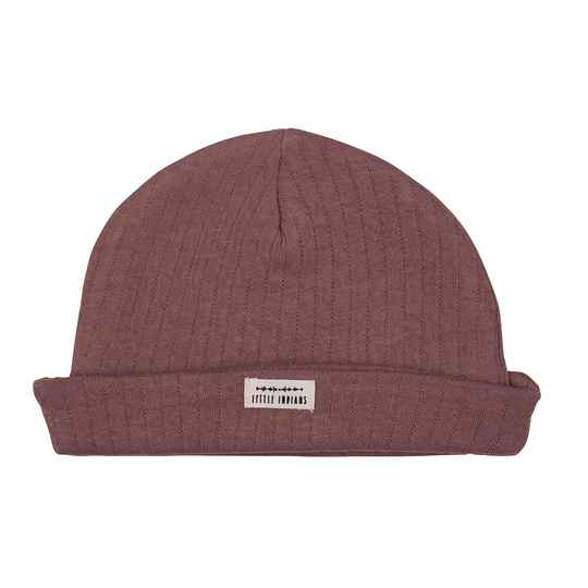 Little Indians Beanie - Burlwood