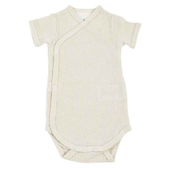 Lodger Romper Ciumbelle Short Sleeves - Cloud Dancer