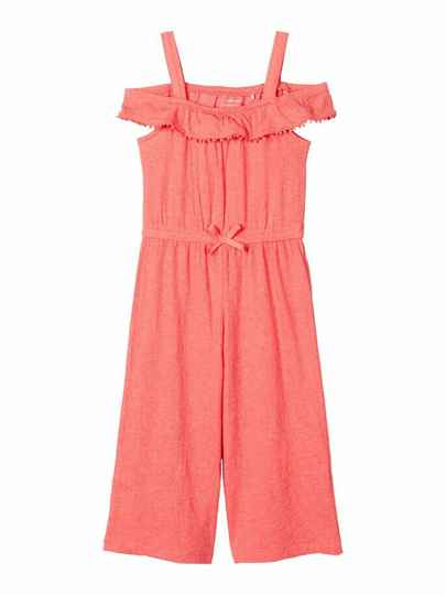 Name It jumpsuit coral rood Asweet