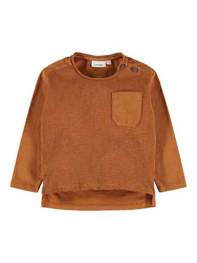 Lil' Atelier Loose Top Ivar - Glazed Ginger