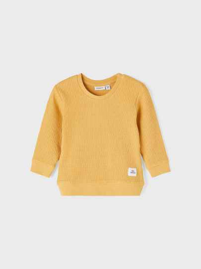 Name It dunne Sweat Hardy - Ochre