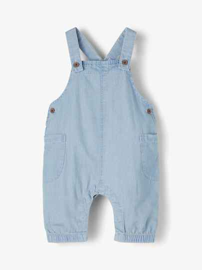 Lil' Atelier Overal Ilan - Light Blue Denim