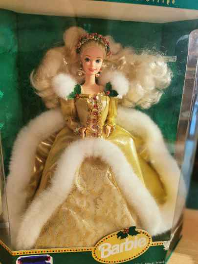 Barbie special edition...collectors item.. Happy holidays