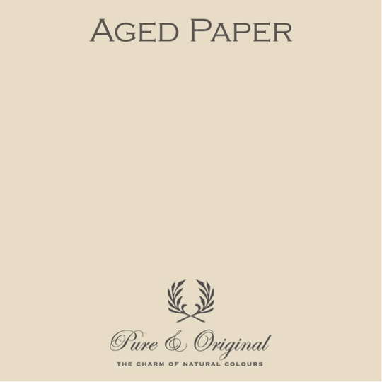 Aged Paper - Afwasbare verf - Licetto