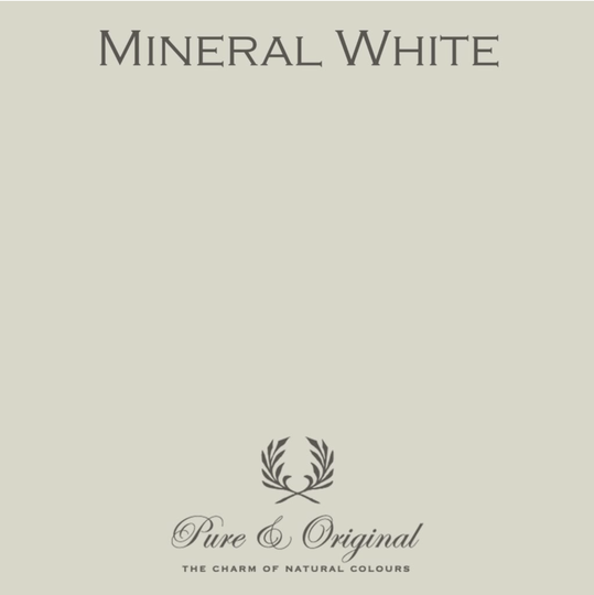 Mineral White - Afwasbare verf - Licetto