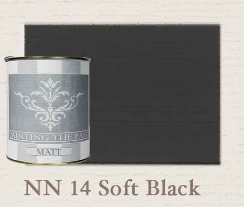 Soft Black -  Matte Krijtlak  - Matt