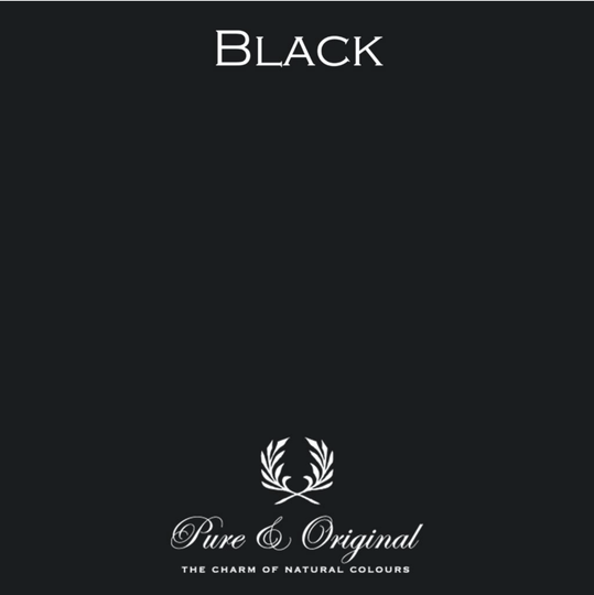Black - Afwasbare verf - Licetto