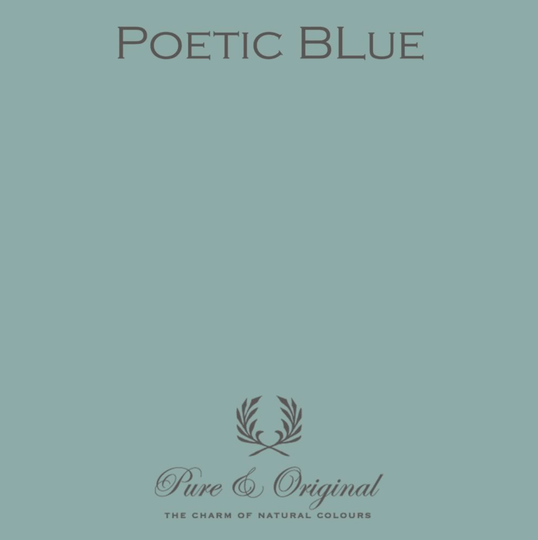 Poetic Blue - Afwasbare verf - Licetto