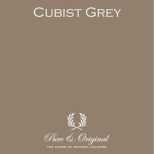Cubist Grey - Afwasbare verf - Licetto