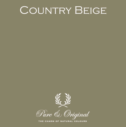 Country Beige - Afwasbare verf - Licetto