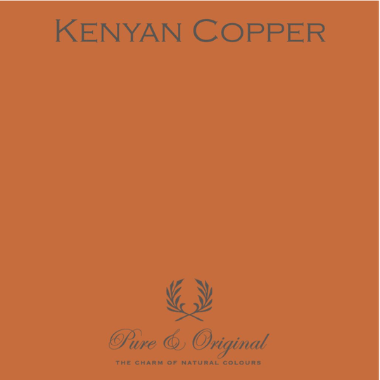 Kenyan Copper - Afwasbare verf - Licetto