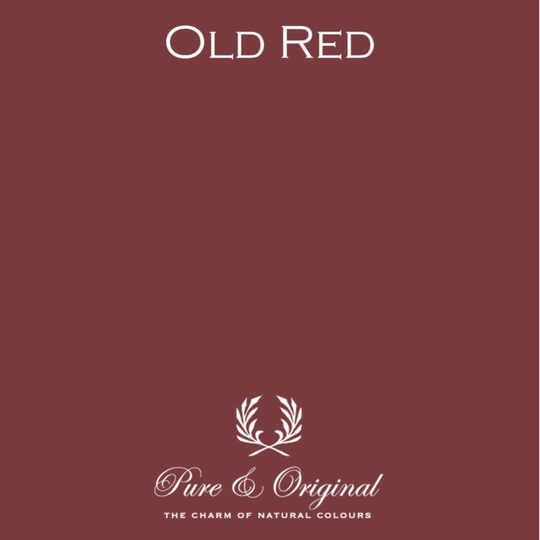 Old Red - Zijdeglans lak - Traditional Paint
