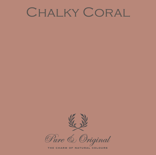 Chalky Coral - Zijdeglans lak - Traditional Paint