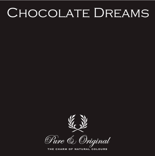 Chocolate Dreams - Afwasbare verf - Licetto