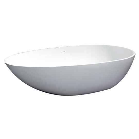 Solid Surface bad Puur 180 cm wit