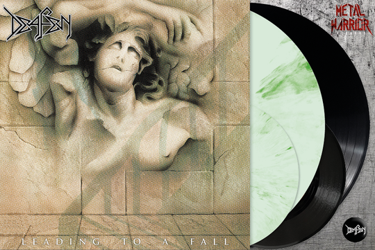 """DEAFEN - LEADING TO A FALL LP+7""""+BOOKLET"""