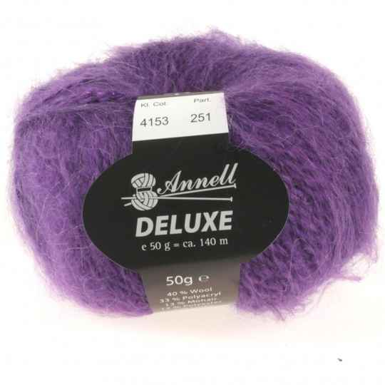 Annell De Luxe 4153 paars