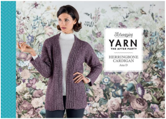 After the party - Herringbone Cardigan