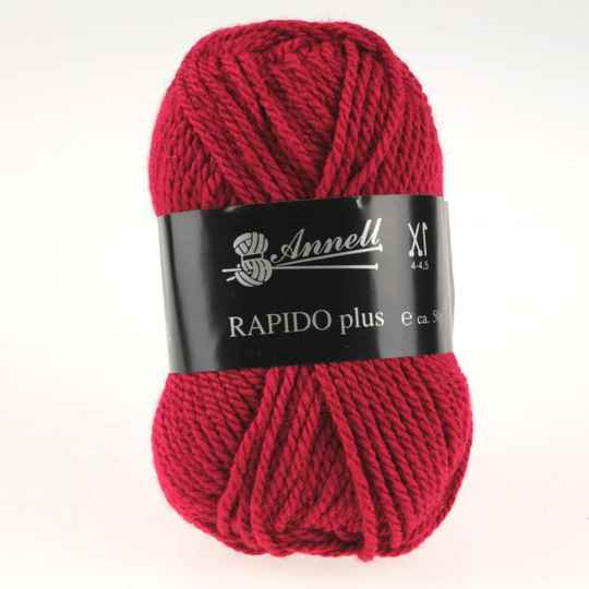 Annell Rapido Plus 9213 kersenrood