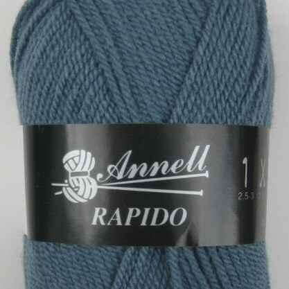 Annell Rapido 3224 turquoise blauw