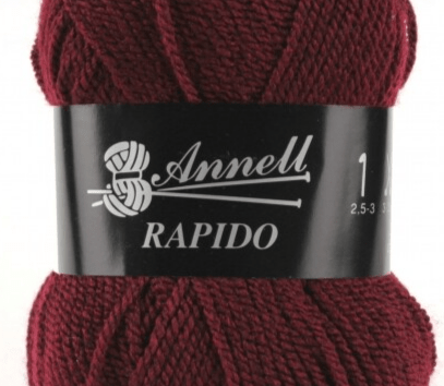 Annell Rapido 3210 donkerrood