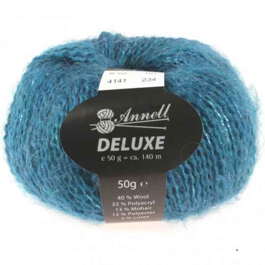 Annell De Luxe 4141 turquoise