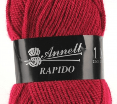 Annell Rapido 3213 kersenrood