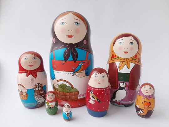 GTT - Matroyshka with Wild Birds