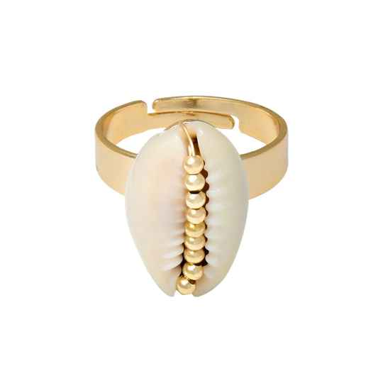 Ring Shell - goud