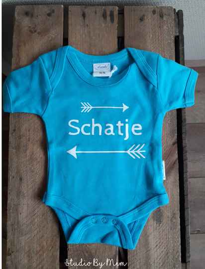 Romper Schatje - Turquoise