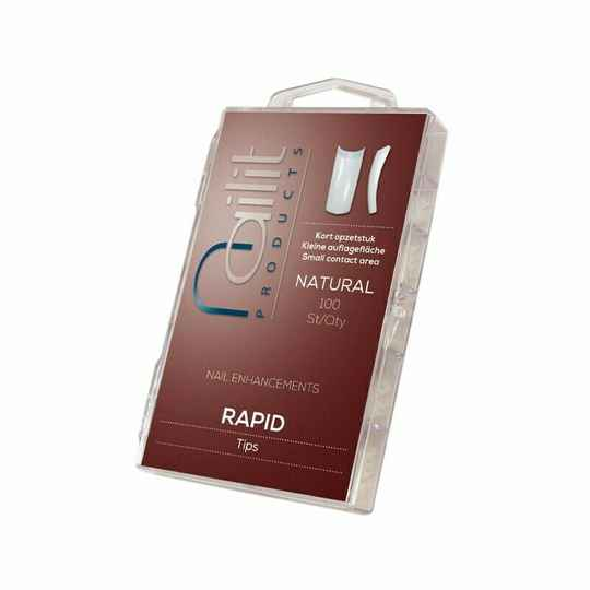 NAIL IT - RAPID TIPS - NATURAL & CLEAR
