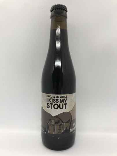 Excuse Me While I Kiss My Stout (2019 editie) - Hedonis Ambachtsbier