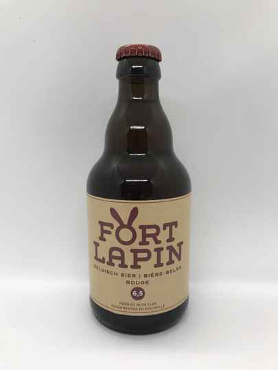 Fort Lapin Rouge 6.5 - Brouwerij Fort Lapin