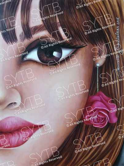 SYTB☆Half the Beauty 2018 (Original Painting)