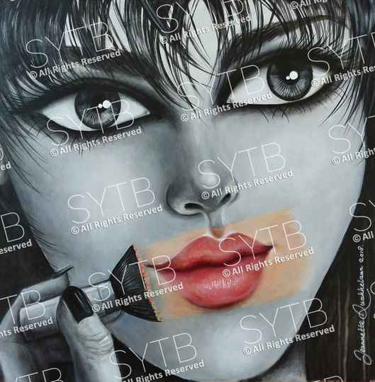 SYTB☆Affectionate Beauty 2018 (Original painting)