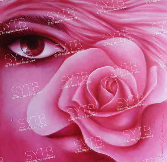 SYTB☆Pink Beauty 2018 (Original painting)
