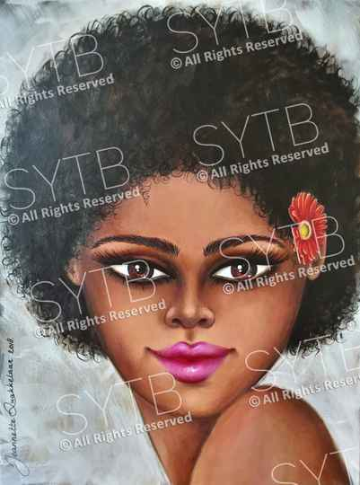 SYTB☆Tropic Beauty 2018 (Original Painting)