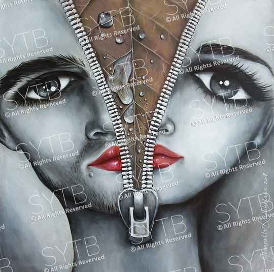 SYTB☆Divided Beauty 2018 (Original Painting)