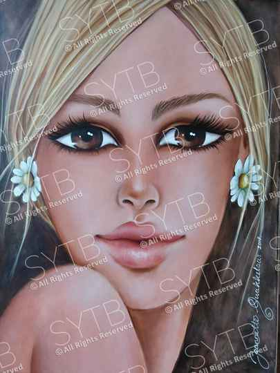 SYTB☆Delicate Beauty 2018 (Original painting)