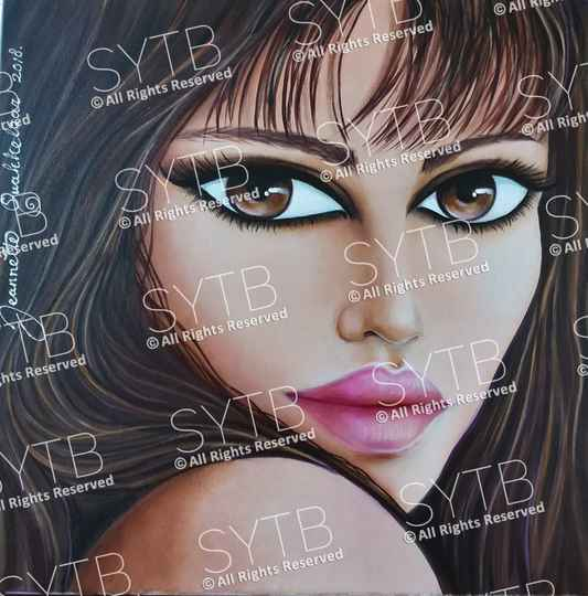 SYTB☆Mellow Beauty 2018 (Original painting)