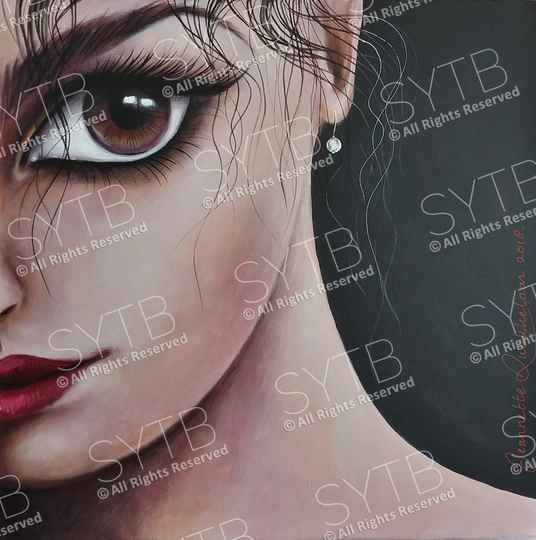 SYTB☆Desirable Beauty 2018 (Original painting)