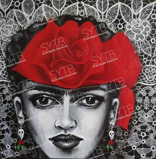 SYTB☆Kahlo Beauty 2019(Original Painting)